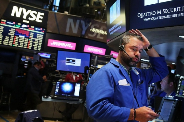 Индекс Dow Jones рухнул нафоне прогноза снижения выручки Apple